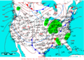 2005-02-09 Surface Weather Map NOAA.png