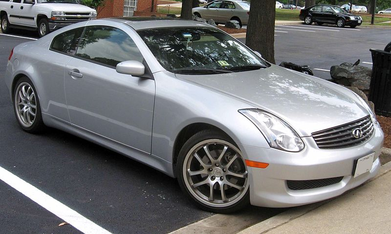 Infiniti G Coupe Used Car Review