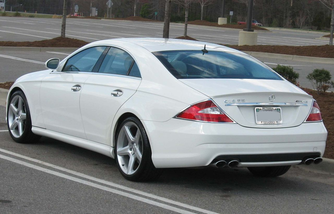 File 2006 mercedes benz cls55 amg wikimedia commons for 2006 mercedes benz cls 500 amg