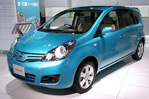 Nissan Note - 2008 Nissan Note (Japanese made version)