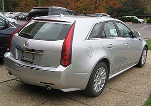 Cadillac CTS - 2010 Cadillac CTS wagon