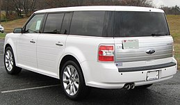 2010 Ford Flex Limited rear -- 11-25-2009.jpg