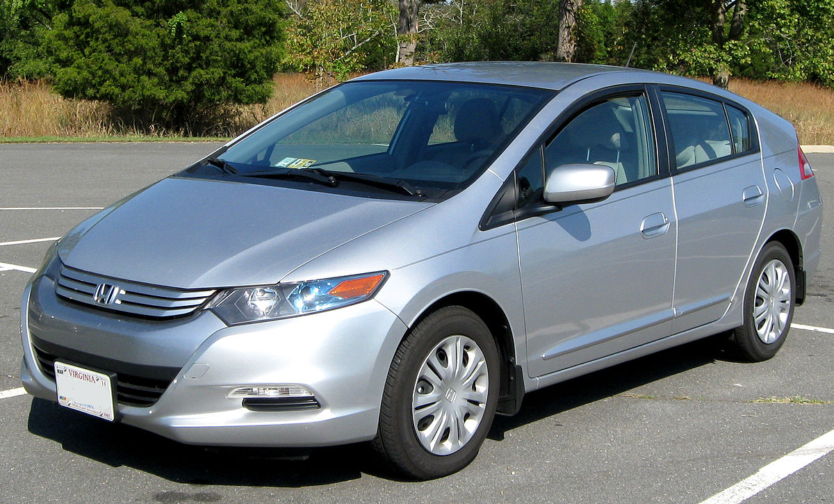 Honda insight wikipedia for Honda hybrid cars