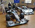 2010 M MGP W01 + 1991 MB C291 Automuseum Dr. Carl Benz, 2014.JPG