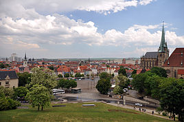 View over Erfurt