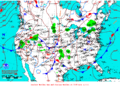 2012-02-15 Surface Weather Map NOAA.png