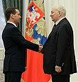 2012-02-22 Дмитрий Медведев, Михаил Державин.jpeg