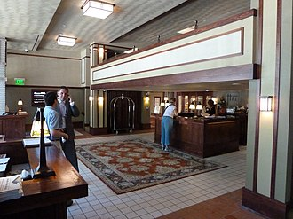 Park Inn Hotel - The restored lobby of the Historic Park Inn.
