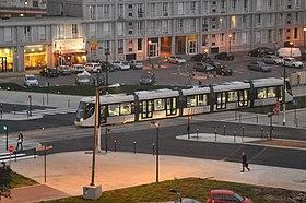 image illustrative de l 39 article tramway du havre. Black Bedroom Furniture Sets. Home Design Ideas