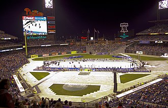 American Hockey League - An AHL record crowd of 45,653 watched the Adirondack Phantoms defeat the Hershey Bears, 4–3 in OT, at the 2012 AHL Winter Classic at Citizens Bank Park in Philadelphia, Pennsylvania.