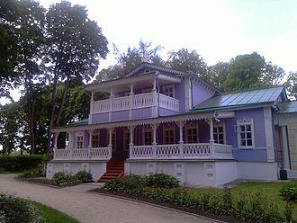 Ivan Turgenev - Spasskoye-Lutovinovo, Turgenev's estate near Oryol
