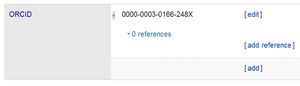 ORCID - Nick Jennings' ORCID in his Wikidata entry