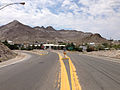 2014-07-17 12 06 14 View west along U.S. Route 6 near the junction with U.S. Route 95 about 1.9 miles east of the Esmeralda County Line in Tonopah, Nevada.JPG