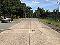 2014-08-29 15 36 59 View southeast along Stuyvesant Avenue at the border of Trenton and Ewing, New Jersey, with concrete pavement likely dating to the 1950s.JPG