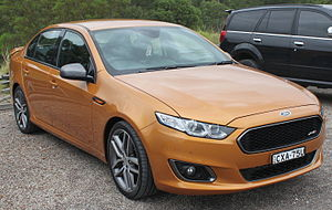 Ford Falcon (Australia) - Image: 2014 Ford Falcon (FG X) XR6 Turbo sedan (23382738252)