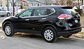 2014 Nissan Rogue S AWD rear left.jpg