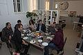 2015-01-06 Wiki Loves Cheese Racletteessen bei WMAT 7627.jpg