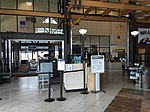 2015-05-05 10 54 12 Entrance to the security screening area within the terminal at the Elko Regional Airport in Elko, Nevada.jpg