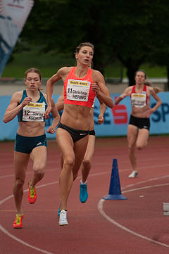 Christina Hering - the cute athlete  with German roots in 2018