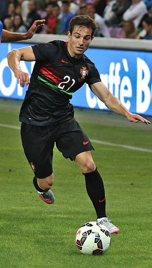 Cédric Soares - Cédric playing for Portugal in 2015