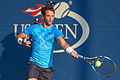 2015 US Open Tennis - Qualies - Jose Hernandez-Fernandez (DOM) def. Jonathan Eysseric (FRA) (20967187375).jpg