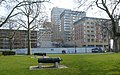 2016 Woolwich, Crossrail Station construction site 03.jpg