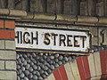 2018-04-23 Street name sign, High Street, Sheringham.JPG