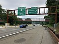2018-07-17 08 38 28 View north along New Jersey State Route 444 (Garden State Parkway) at Exit 151 (Montclair, Nutley) in Bloomfield Township, Essex County, New Jersey.jpg
