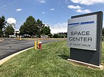2018-07-29 14 24 45 Entrance to the Northrop Grumman Space Center at Warp Drive along Atlantic Boulevard in Sterling, Loudoun County, Virginia.jpg