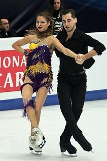 Oleksandra Nazarova Ukrainian ice dancer