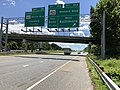 2019-06-14 13 20 22 View south along the Inner Loop of the Baltimore Beltway (Interstate 695) at Exit 38A (Maryland State Route 150 WEST-Eastern Boulevard, Baltimore) in Dundalk, Baltimore County, Maryland.jpg