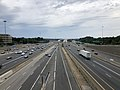 2019-06-24 16 43 31 View north along Interstate 95 (Henry G. Shirley Memorial Highway) from the overpass for Virginia State Route 789 (Commerce Street) in Springfield, Fairfax County, Virginia.jpg