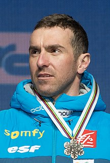 Maurice Manificat French cross country skier