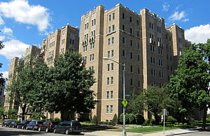 Benjamin N. Cardozo - Cardozo had a flat in this apartment building in Washington, D.C.