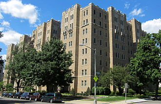 Benjamin N. Cardozo - Cardozo had an apartment in this apartment building in Washington, D.C.