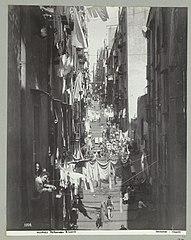 2208 Napoli Pallonetto S. Lucia (titel op object) Napels (titel op object), RP-F-2007-358-25.jpg