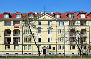 Władysław Szpilman - House at al. Niepodległości 223 in Warsaw where in 1944 Szpilman met Wilm Hosenfeld