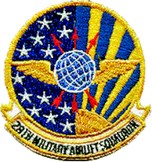28th Military Airlift Squadron - Image: 28th Military Airlift Squadron MAC Emblem