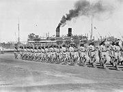 2 25th Battalion on garrison duties in Syria 1941