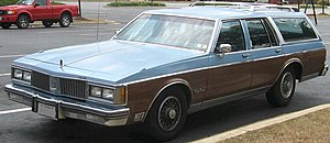 Oldsmobile Custom Cruiser - Image: 2nd Oldsmobile Custom Cruiser