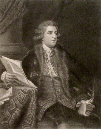 Earl of Upper Ossory - John FitzPatrick, 2nd Earl of Upper Ossory.