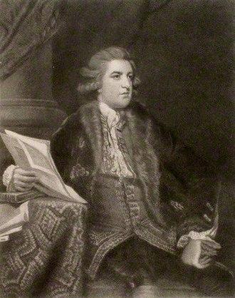 John FitzPatrick, 2nd Earl of Upper Ossory - The Earl of Upper Ossory