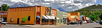 Paonia, Colorado - Corner of 3rd and Grand in Paonia, 2009
