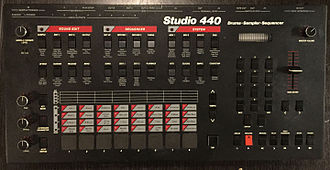 Groovebox - Sequential Circuits Studio 440 (1986)