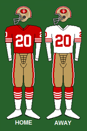 1984 San Francisco 49ers season - Image: 49ers 84 88