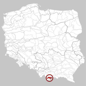 Spisko-Gubałowski Highlands - Image: 514.13 Pogórze Spisko Gubałowskie