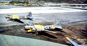 Narsarsuaq Air Base - 51st Rescue Squadron SB-17s, Narsarsuaq Air Base about 1952