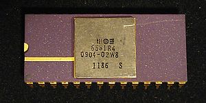 MOS Technology SID - 6581R4 CDIP produced in 1986