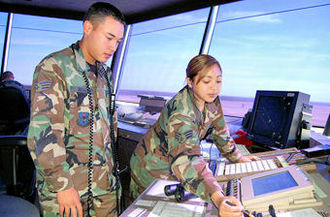 81st Training Wing - Air Traffic Control training at Keesler AFB