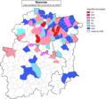 91 Communes Essonne Politique 2001.png
